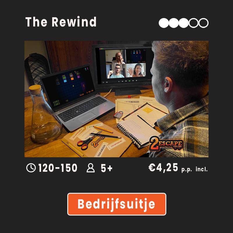 The Rewind bedrijfsuitje
