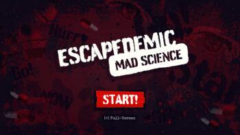 Startscherm Mad Science